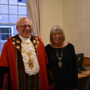 Photo of Mayor and Mayoress